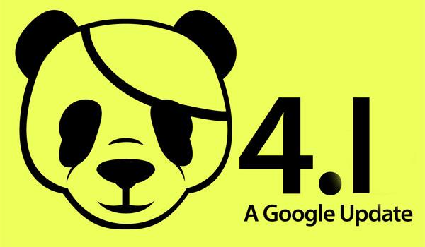 google panda 4.1 release